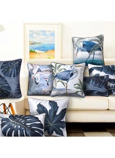 The Mia Dekoratif yastık 50 x 30 Cm Renkli